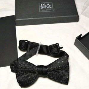 New_Formal Silk Bow Tie w/RhineStones_JOS A BANK